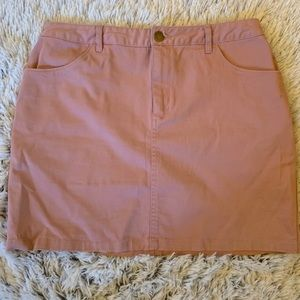 Forever 21 pink mini skirt